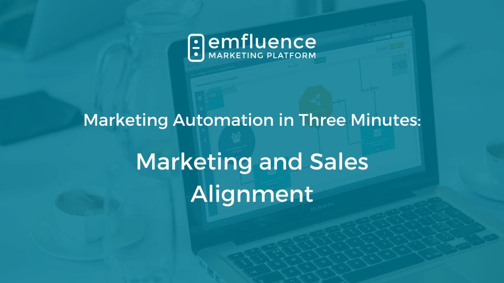 Marketing automation three minutes Marketing Alignment (1)
